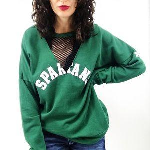 PINK Victoria's Secret : MSU Spartans Sweatshirt